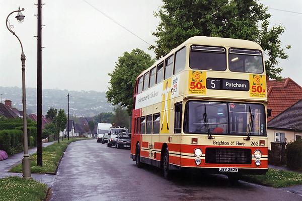 262 JWV262W, Patcham 14/5/1994