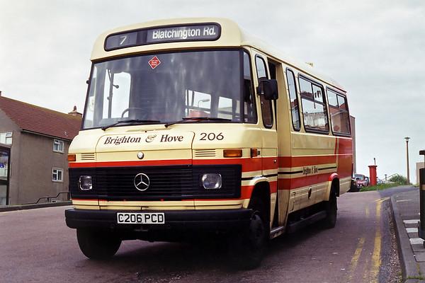 206 C206PCD, Bristol Estate 12/5/1994