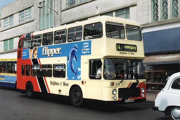 279 VVV959W, Brighton 13/8/1996
