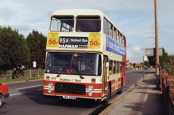 260 JWV260W, Shoreham 14/9/1994