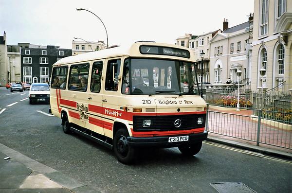 210 C210PCD, Brighton 18/5/1991