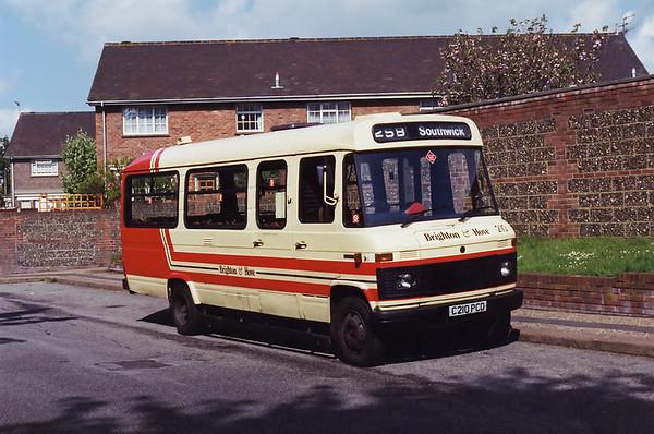 210 C210PCD, Southwick 8/5/1994