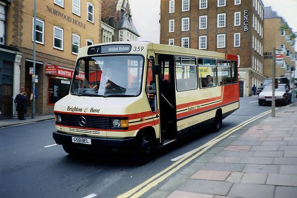 359 G59BEL, Brighton 18/5/1991