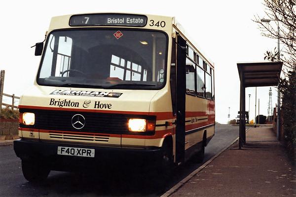 340 F40XPR, Bristol Estate 20/1/1994