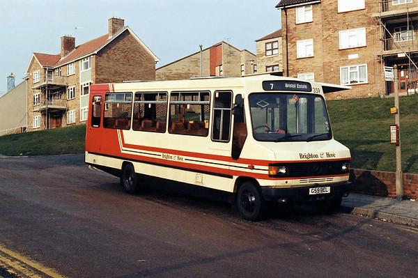 359 G59BEL, Bristol Estate 13/2/1994