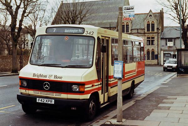 342 F42XPR, Hove 9/1/1994