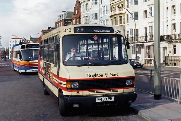 343 F43XPR, Brighton 19/4/1995