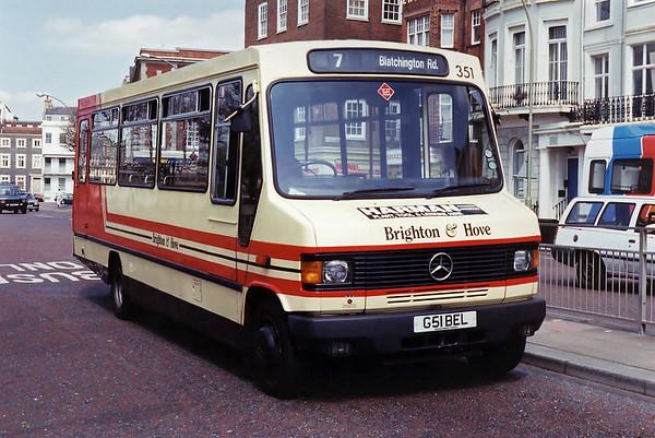 351 G51BEL, Brighton 30/4/1994