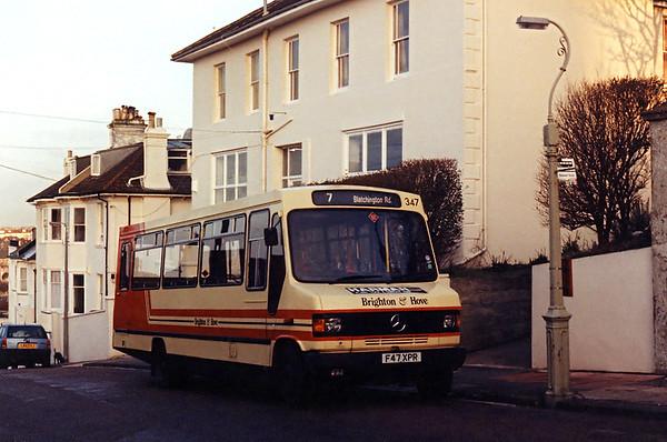 347 F47XPR, Bristol Estate 31/1/1994