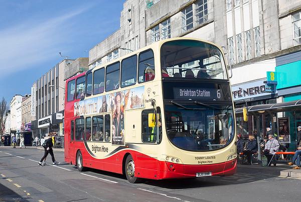 415 BJ11XHR, Brighton 6/3/2020
