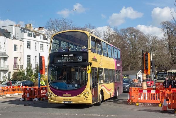 425 BF12KWZ, Brighton 6/3/2020