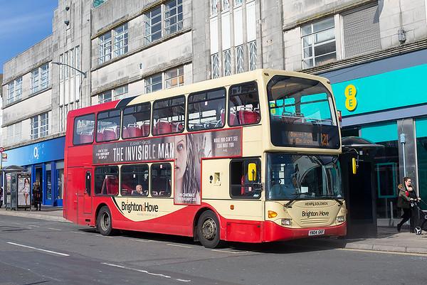 633 YN04GKF, Brighton 6/3/2020