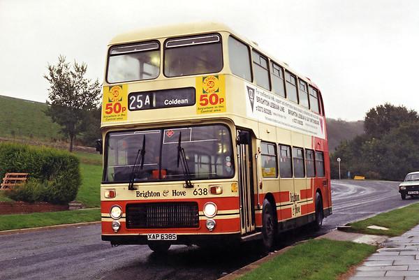 638 XAP638S, Coldean 19/9/1994