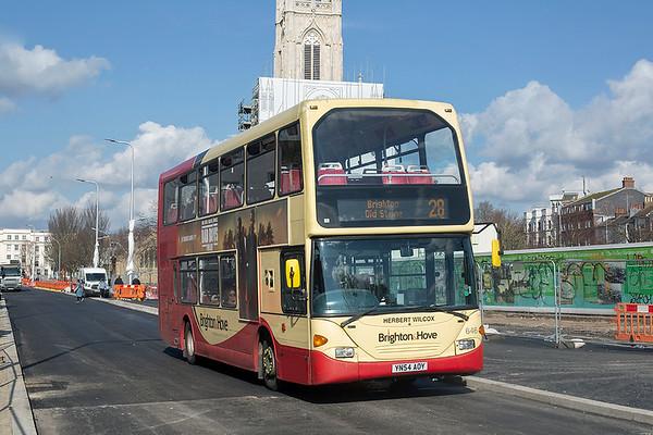 646 YN54AOY, Brighton 6/3/2020