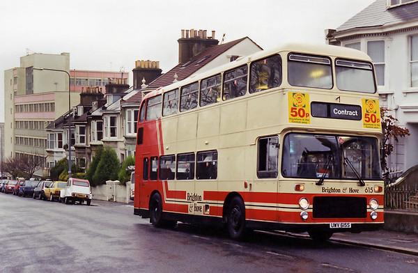 615 UWV615S, Brighton 18/11/1994