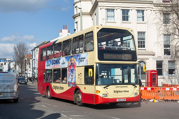 648 YN05GZM, Brighton 6/3/2020