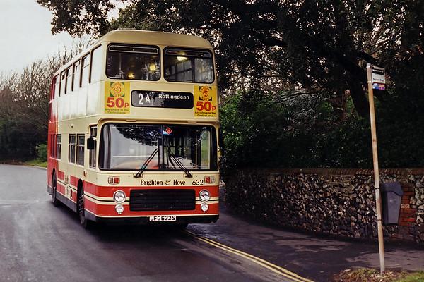 632 UFG632S, Rottingdean 9/1/1995