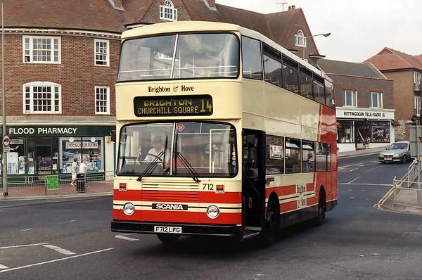 712 F712LFG, Rottingdean 19/8/1995