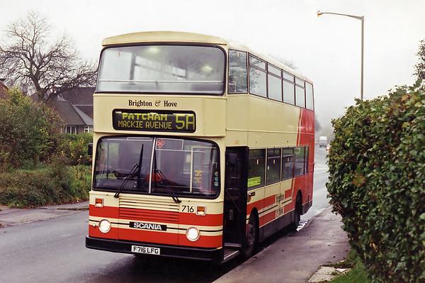 716 F716LFG, Patcham 19/11/1994