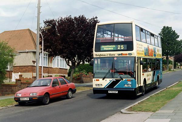 751 N751OAP, Southwick 13/8/1996