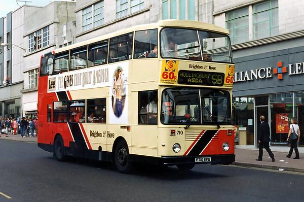 710 E710EFG, Brighton 13/8/1996