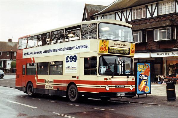 709 E709EFG, Patcham 18/1/1994