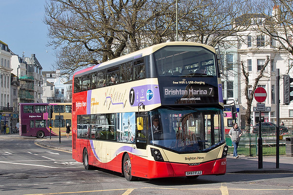 829 SK67FJJ, Brighton 6/3/2020