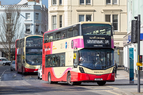 807 SK16GWL, Brighton 6/3/2020