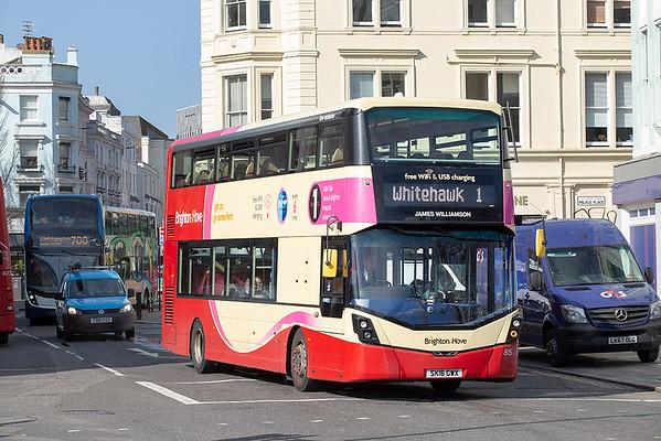 815 SK16GWX, Brighton 6/3/2020