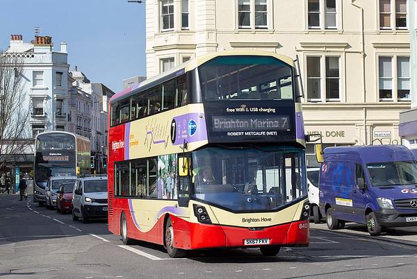 840 SK67FKV, Brighton 6/3/2020