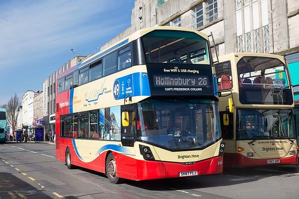846 SK67FLJ, Brighton 6/3/2020