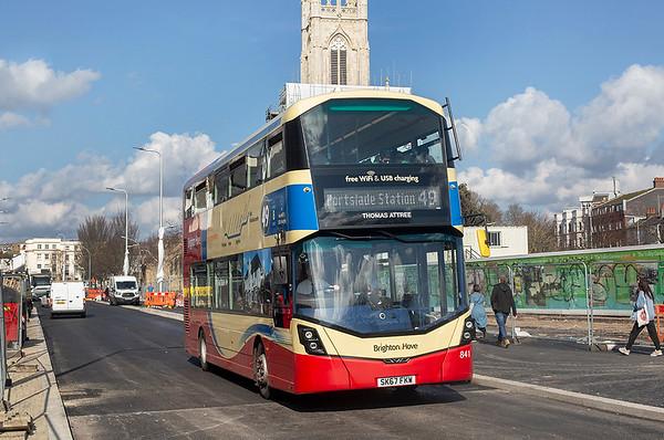 841 SK67FKW, Brighton 6/3/2020