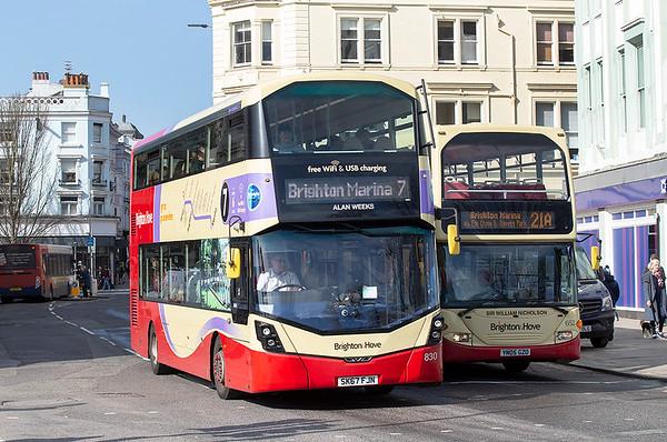 830 SK67FJN, Brighton 6/3/2020