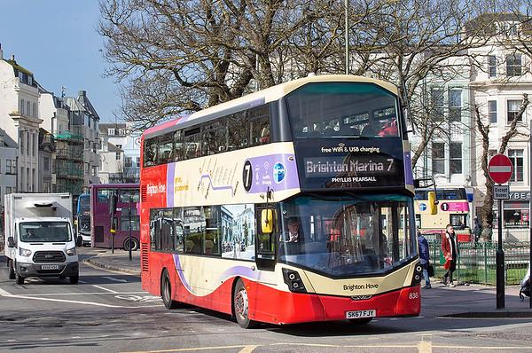 836 SK67FJY, Brighton 6/3/2020