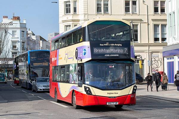 831 SK67FJO, Brighton 6/3/2020