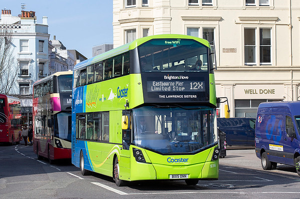 936 BX15ONN, Brighton 6/3/2020