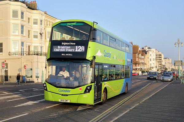 921 BX15OMT, Brighton 2/11/2015