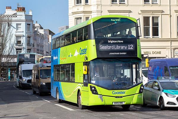 928 BX15ONC, Brighton 6/3/2020