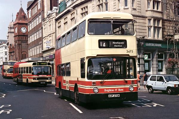 3475 AUP375W, Brighton 19/8/1995