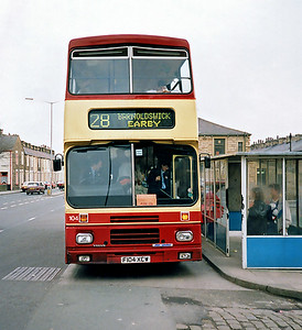 104 F104XCW, Burnley 13/3/1991