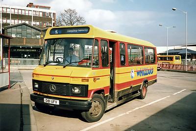 81 D81UFV, Burnley 13/3/1991