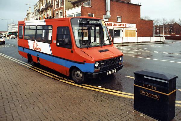 955 F24PSL, Portsmouth 29/12/1993