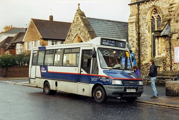 2048 K929VDV, Southsea 29/12/1993