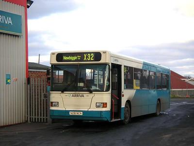 Arriva 281 (N281NCN), Ashington, 26th January 2006