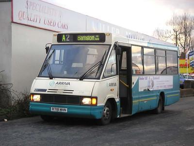 Arriva 2718 (R718MHN), Ashington, 26th January 2006
