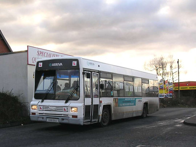 Arriva 9988 (G510EAJ), Ashington, 26th January 2006