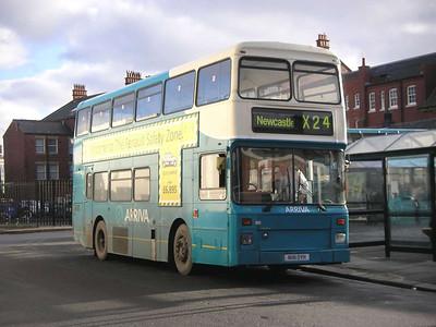 Arriva 7256 (N181OYK), Blyth, 26th January 2006