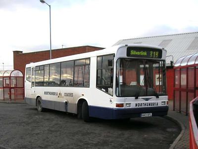 Northumbria Coaches R413XFL, Ashington, 26th January 2006