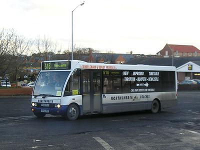 Northumbria Coaches 23 (GP02DPV), Morpeth, 26th January 2006