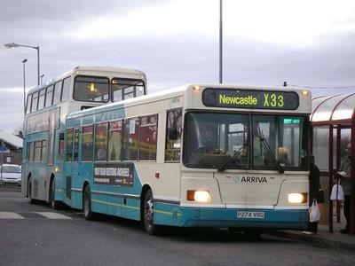 Arriva 274 (P274VRG), Ashington, 26th January 2006